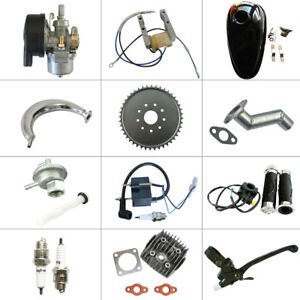 66cc 80cc 2 Stroke Engine Motorized 415 Chain Bicycle Bike Parts Ebay