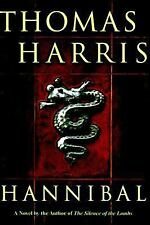 HARD BACK BOOK THOMAS HARRIS HANNIBAL BY THE AUTHOR OF SILENCE OF THE LAMBS