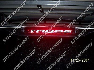 Chevy CAMARO 3rd Brake Light VINYL STICKER fits 1999 2000 2001 2002