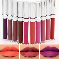 Waterproof Colour Ultra Matte Liquid Lip Gloss Long Lasting Lipstick Makeup