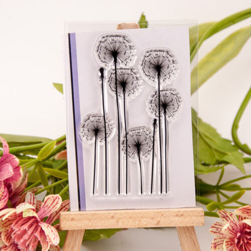 Blume Gras Silikonstempel Clear Stempel Scrapbooking Briefmarken DIY s