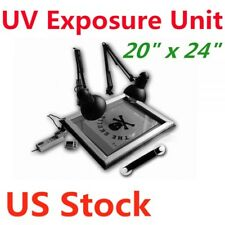 Us Stock 20 X 24 Uv Exposure Unit Silk Screen Printing Plate Screening Making