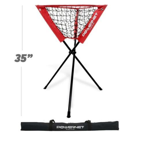 PowerNet Baseball Softball Portable Batting Practice Ball Caddy