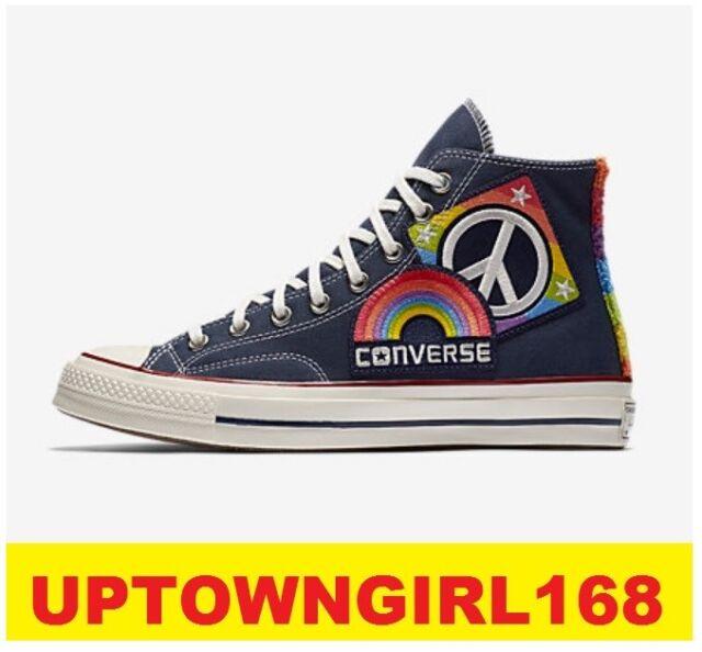 Converse Chuck Taylor ALL STAR HI 70 Pride Parade Peace LGBT US Men 8 to 13 New