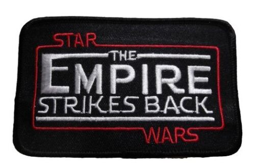 """Star Wars The Empire Strikes Back Movie Title Logo 4 1//4/"""" Wide Embroidered PATCH"""