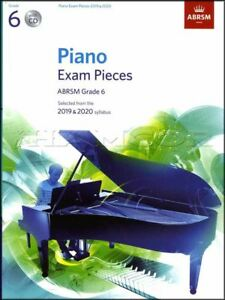 Brillant Abrsm Piano Exam Pieces 2019 2020 Syllabus Grade 6 Sheet Music Book And Cd-afficher Le Titre D'origine