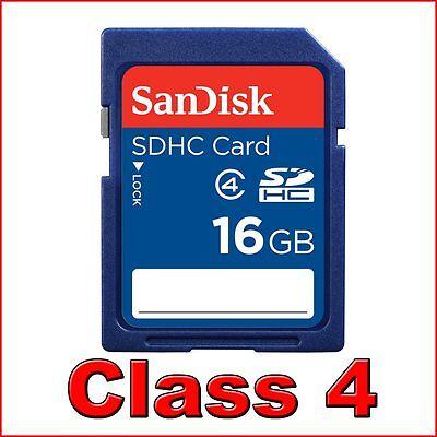 SanDisk 16GB SDHC SD Speicherkarte HC 16 GB Retail