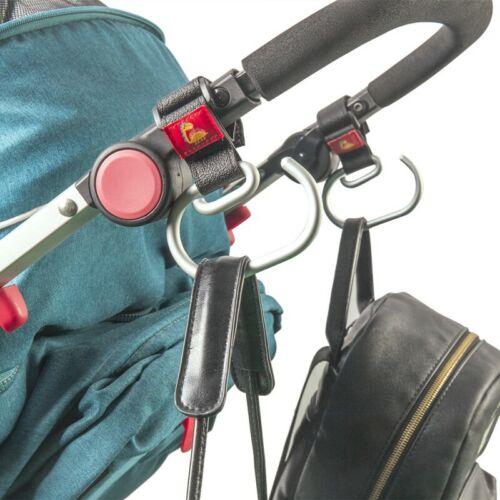 Kinderwagenhaken Kinderwagenhaken Einkaufstasche Clip Carrier Kinderwagenhalter