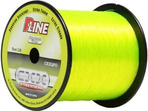 P-Line-CXX-Fluorescent-Green-X-Tra-Strong-Co-Polymer-Fishing-Line-Big-Game