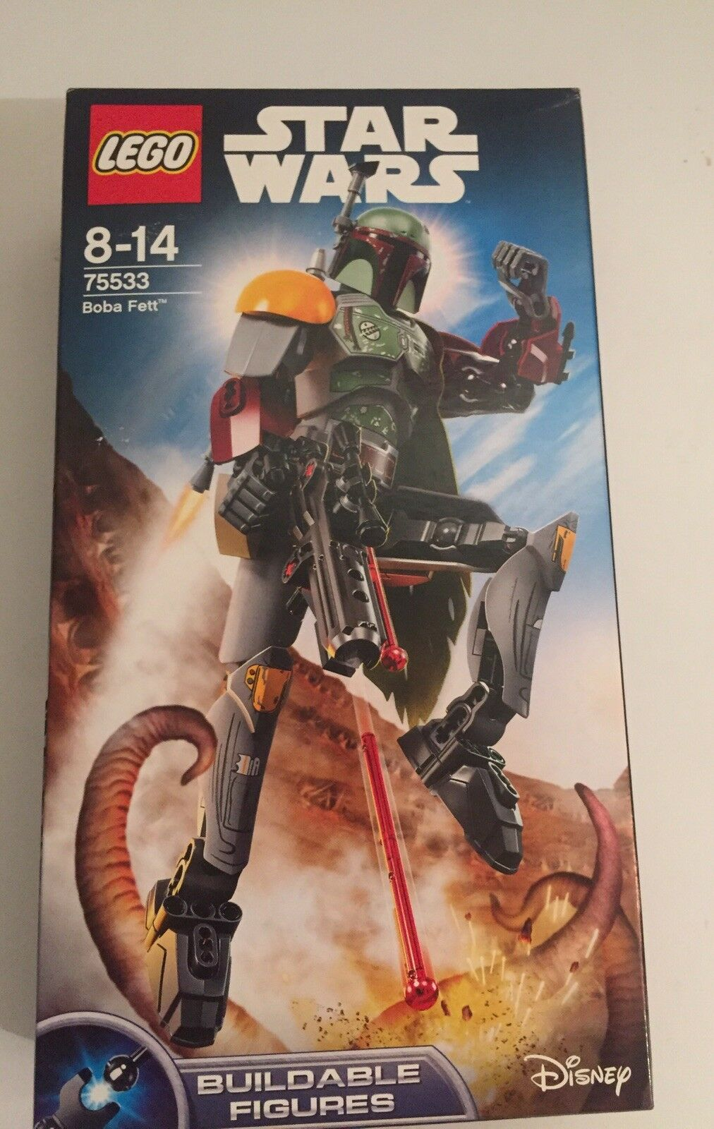Lego Star Wars Buildable Figures  Boba Fett 75533 NEW