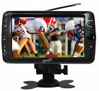 """Supersonic SC-195TV 7"""" Portable Rechargeable Digital LC TV W/USB/SD Input & Remo"""