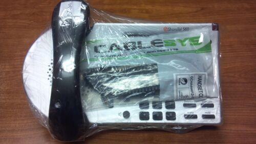 ShoreTel IP560 Speaker Display Phone in Silver Refurbished 1Yr Warranty