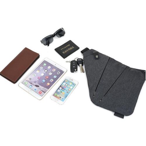 Men Sling Bag Chest Shoulder Bags Fanny Pack Crossbody Travel Sport Backpack D