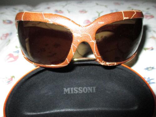 donna marrone Mk0072 pelle senza graffi Alviero Occhiali da sole in Martini EZgRUq
