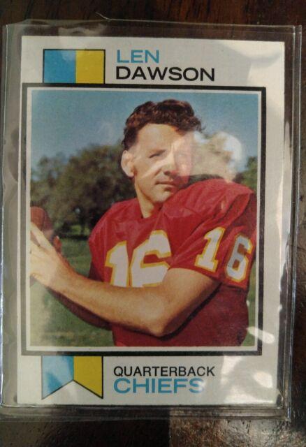 1973 Topps Len Dawson #335 Football Card
