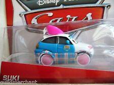 DISNEY Pixar CARS Fun-Loving SUKI Tokyo Mater Cars Toons TUNERS Die-Cast CARS 2