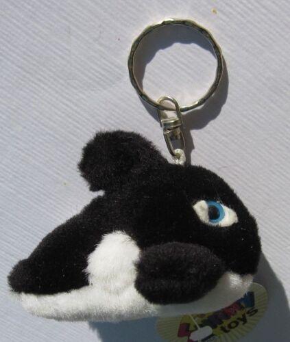 Stofftiere A53v Schwertwal Orca Plüsch Schlüsselanhänger Keychain NEU