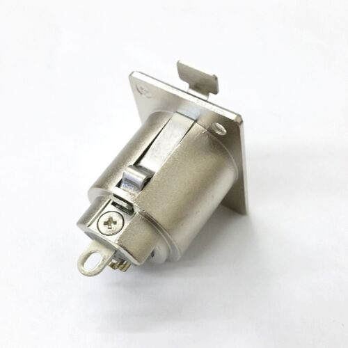 NEW HRS Hirose HA16PRK-3S 3 Pin XLR Female Panel Mount Jack Connector