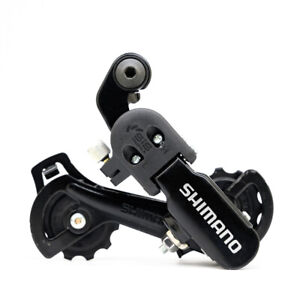 NEW Shimano Tourney RD-TZ31 6//7//18//21 Speed Direct Mount Rear Derailleur Black