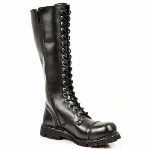 New Rock botas botas negro Gothic m. newmili 19-s1