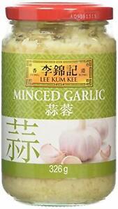 Lee Kum Kee aglio tritati 326 g (Pacco da 3)