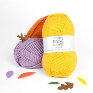 DROPS-100-MERINO-DK-yarn-MERINO-EXTRA-FINE-SUPERWASH-LUXURY-KNITTING-WOOL-50g