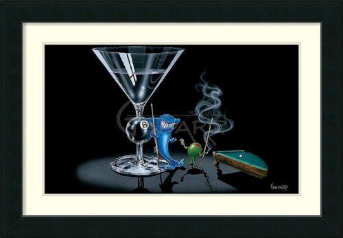"36x27 by Michael Godard /""Pool Shark /"" Framed wall Art"