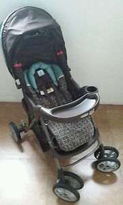 AUTH-GRACO-CLASSIC-CONNECT-TRAVEL-SYSTEM-BABY-STROLLER-FR-INFANT-to-TODDLER