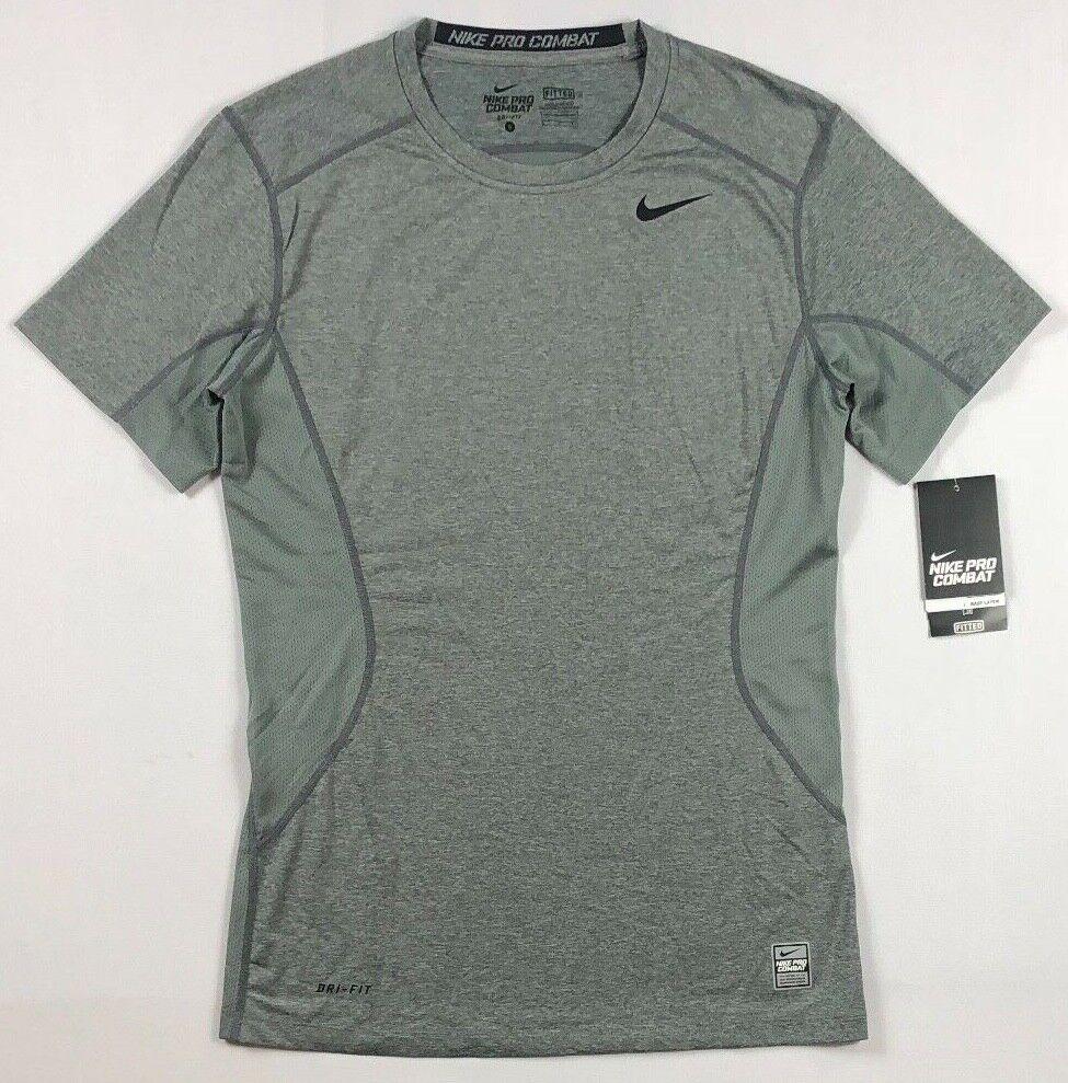 Nike 449787 Pro Combat DRI-FIT Men/'s Short Sleeve Training T-Shirt Size S M 2XL
