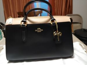 b45b91bb Details about COACH Selena Bond Bag Color Block (gold/black Multi) Satchel  Handbag 39288 NWOT