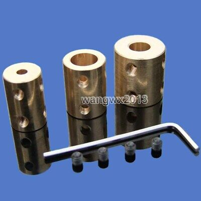 4//5//6//7//8mm Shaft Coupling Rigid Coupling Coupler Motor Connector With A Spanner