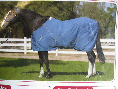 State Line Tack 100/% Cotton Horse Stable Sheet New Pale Blue