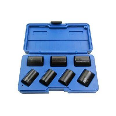 "US Pro 7pc 1/2"" Dr  Locking Wheel Nut Remover Twist Sockets  Lock Nuts 2075"