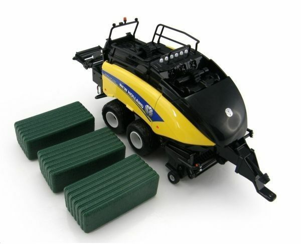 42977   Britains New Holland 1290 square bailer 1 32  Farm Model Toy
