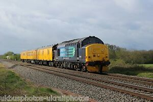 British Rail  DRS 37402 Rail Photo - Mansfield, United Kingdom - British Rail  DRS 37402 Rail Photo - Mansfield, United Kingdom