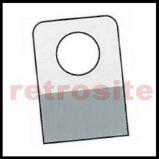 400 Self Stick Clear Plastic Hang Tabs Tags Round Hole Adhesive Package Hangers