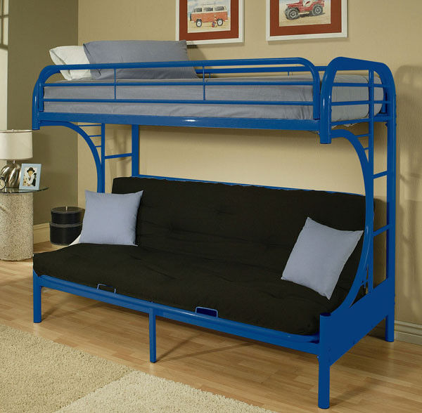 Buy Acme Twinfull Convertible Futon Bunk Bed 02091 Online Ebay