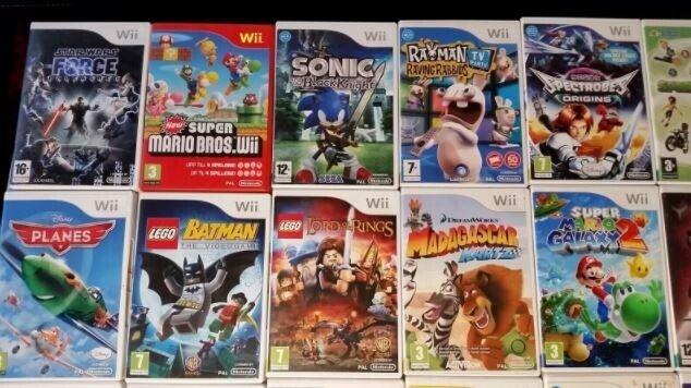 Forskellige Wii Spil 1, Nintendo Wii, anden genre