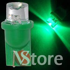2 Pezzi LED T10 CONCAVE VERDE Lampade Luci Lampadine Per Targa e Posizione W5