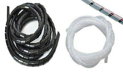 De 6 mm Verde Cable en espiral vinculante Wrap vendidos por 1 Metro