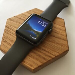 For-iWatch-Charging-Dock-Stand-Charger-Holder-Station-Bracket-oak-Apple-Watch