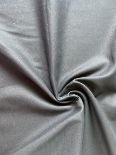 De Coton De Qualité Uni Anthracite Gris Tissé Au Mètre Popeline oekotex