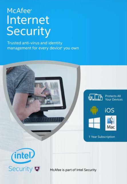 McAfee Internet Security Illimitato Multi-dispositivo 2017 1