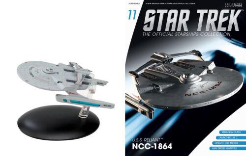 STAR TREK Official Starships Magazine #11 USS RELIANT Miranda Class Eaglemoss