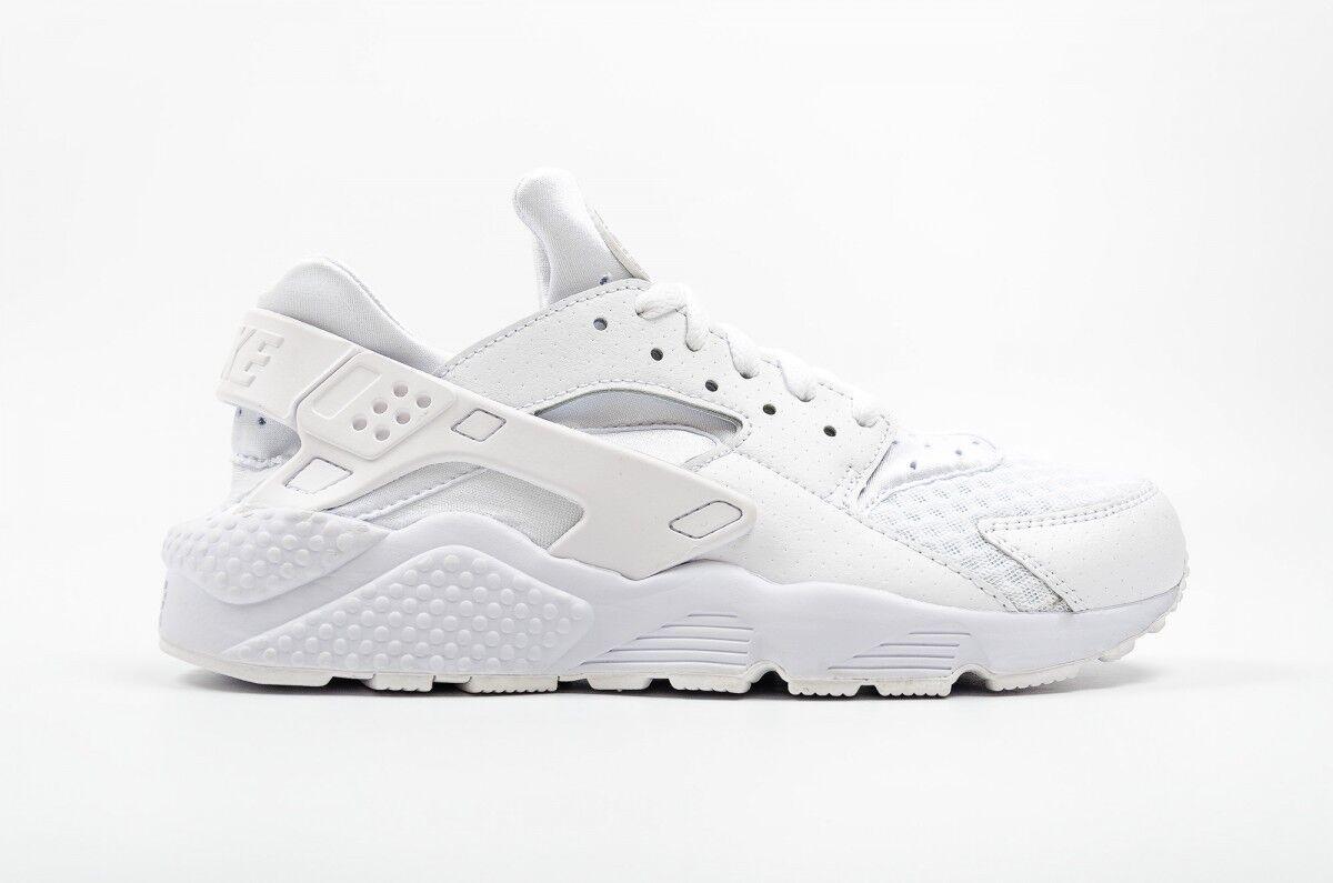 hommes Nike Air Huarache blanc/Pure/Platinum 318429 111 Sizes:8.5_9_10_11