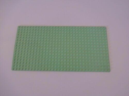 LEGO 32x32 Grundplatte // Bauplatte // Straßenplatte Radweg grau grün