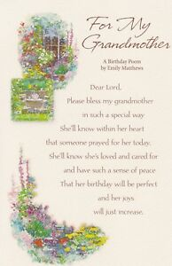 Greeting card birthday for my grandmother by carlton cards image is loading greeting card birthday 034 for my grandmother 034 m4hsunfo