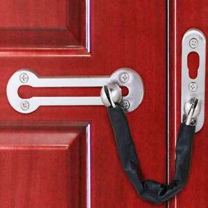 Security Door Chain Buckle Window Catch Bolt Baby Safety