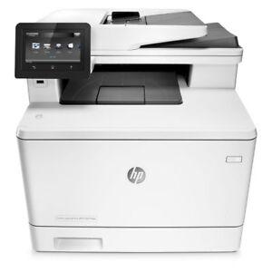 HP LaserJet Pro M477fdw All-In-One Laser Printer