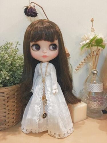 "12/"" Blythe Doll Factory Blythe/'s Dess-White Cultivate One/'s Morality Dress"